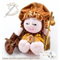 Pilgrim doll for the way to St James - 23 cm