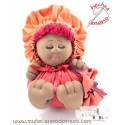 Rag doll the granet Bigfoot the Buñuela - 23 cm