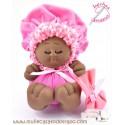 Black rag doll the Bigfoot Buñuela - 23 cm
