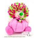Rag doll clown the Buñuela Payasete - 23 cm