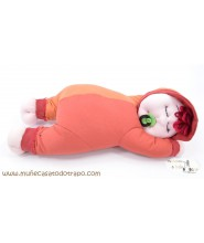 Rag doll for babies and toddlers - Granet Siestin - 37 cm