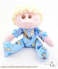 Rad doll for infants Abracitos baby - 30 cm