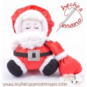 Santa Claus rag doll - Christmas Dolls The Buñuelas
