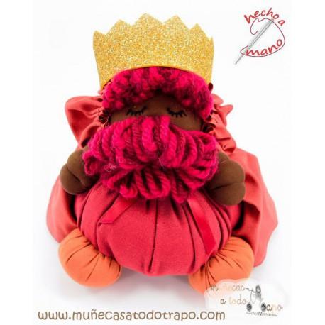 Muñeco Rey Mago Baltasar- 23 cm