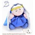 Muñeca de trapo Virgen María - 23 cm