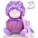Lilac rag doll the Buñuela - 23 cm
