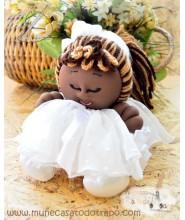 Muñeca de Comunión negra - La Buñuela - 23 cm.