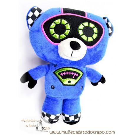 Muñeco de Peluche Robot azul - 25 cm.