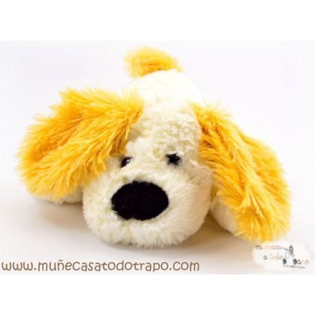 Perro de Peluche blanco - 25 cm.