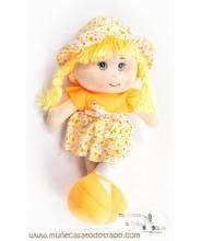 Muñeca Luga - Muñecas de trapo Waldorf - 35 cm