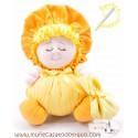 Rag doll the yellow Buñuela - 23 cm