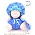 Blue rag doll the Buñuela Bigfoot - 23 cm