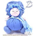 The blue Buñuela - cloth doll - 23 cm