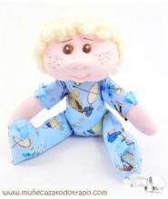 Abracitos Niño - Muñeco de trapo - 30 cm