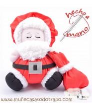 Papá Noel de trapo - Las Buñuelas de Navidad