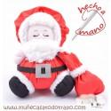 Santa Claus rag doll - Christmas Dolls The Buñuelas