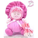 Rag doll the pink Buñuela - 23 cm