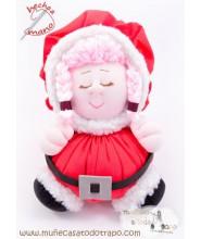 Mamá Noel - Muñecas de trapo Las Buñuelas Navidad