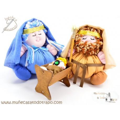 Muñecos de trapo Nacimiento - Portal de Belén