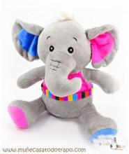 Elefante de Peluche Corocotta - 35 cm