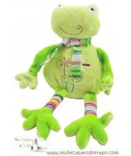 Teddy rattle frog Goyu - 18 cm.