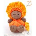 The black rag doll the Bigfoot Buñuela  - 23 cm