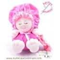 Rag doll pink the Buñuela Bigfoot - 23 cm